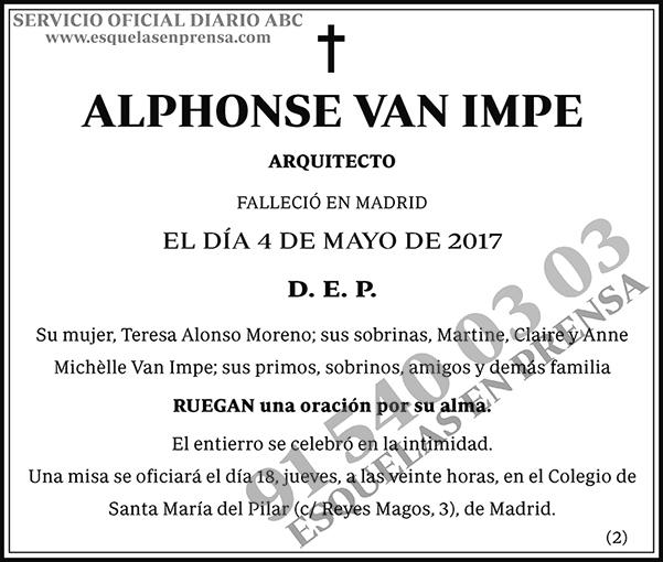 Alphonse Van Impe